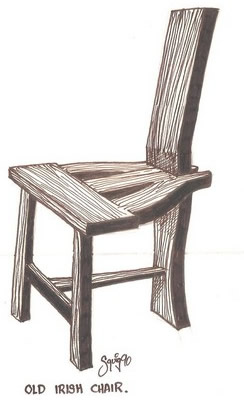 Old irish chair-Tuam chair
